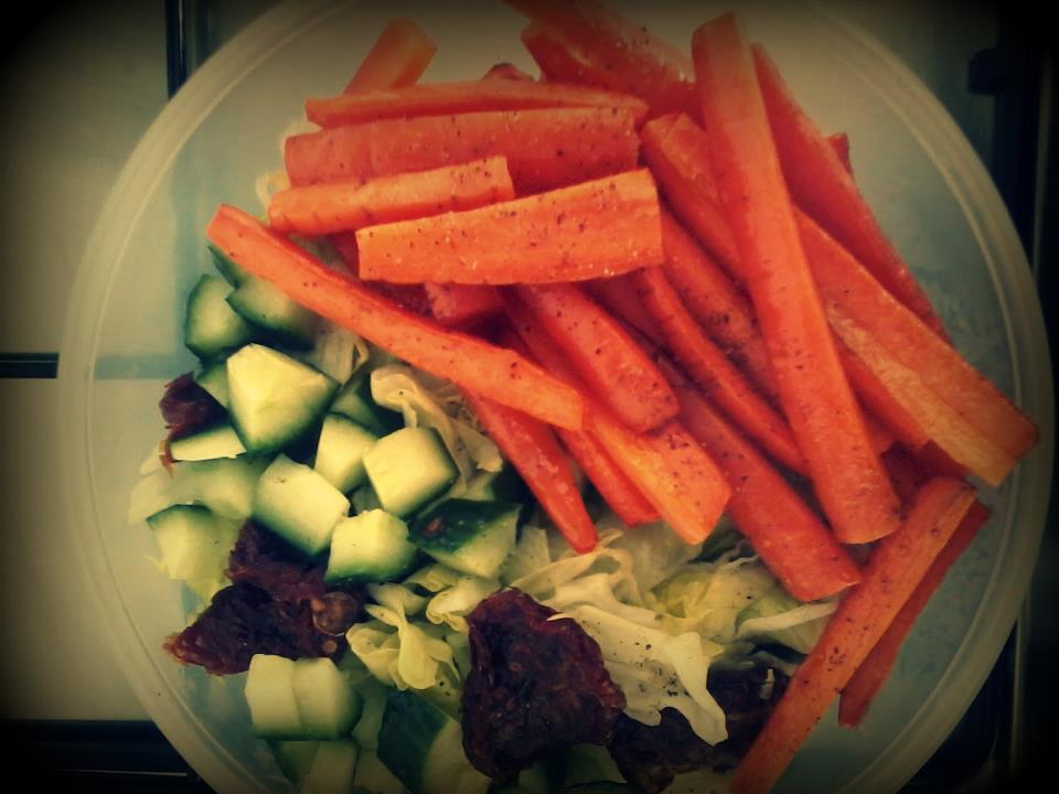 Geroosterde worteltjes