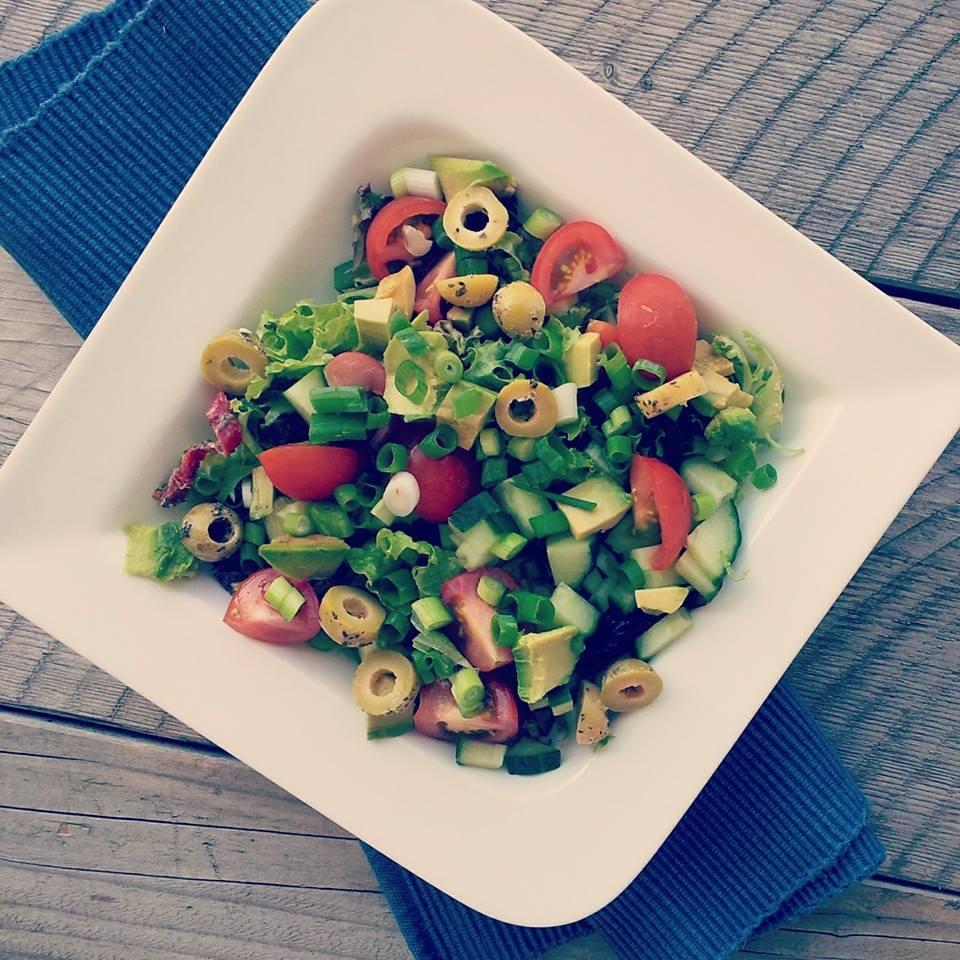 Griekse salade anders
