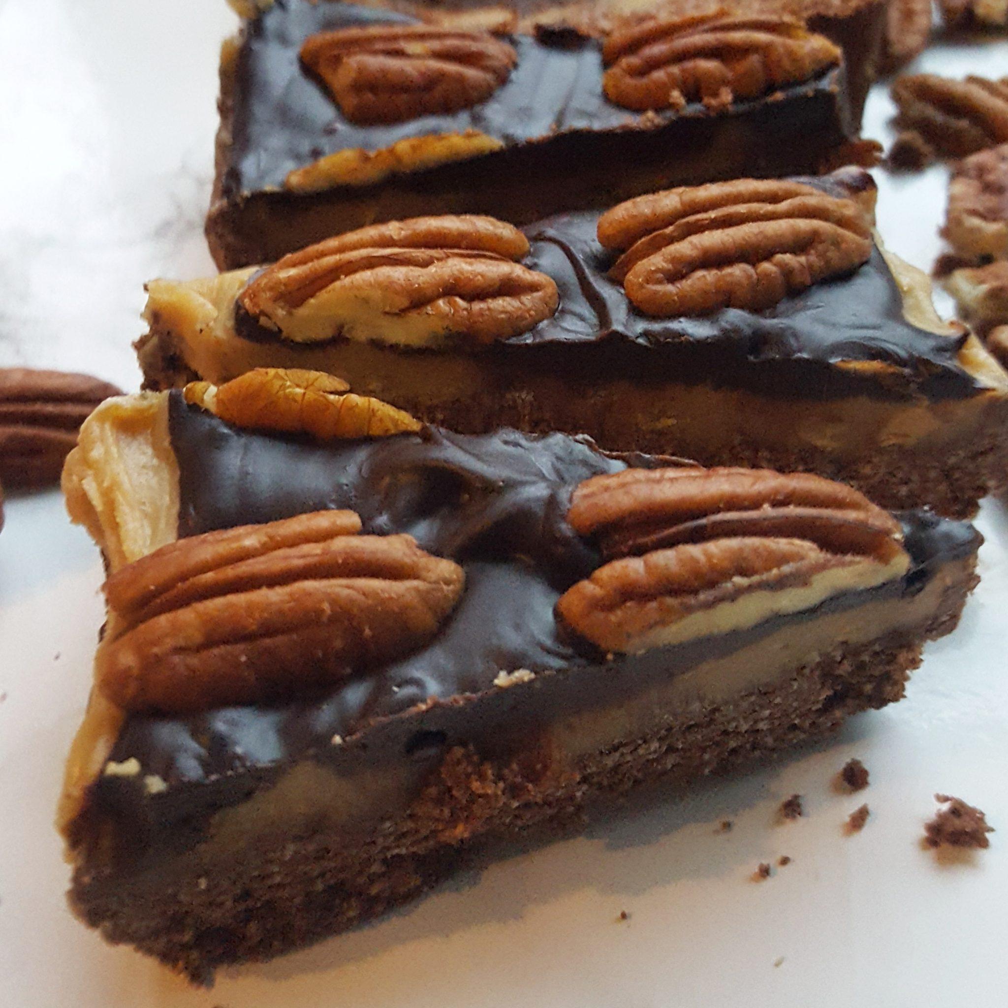 Karamel chocoladetaart