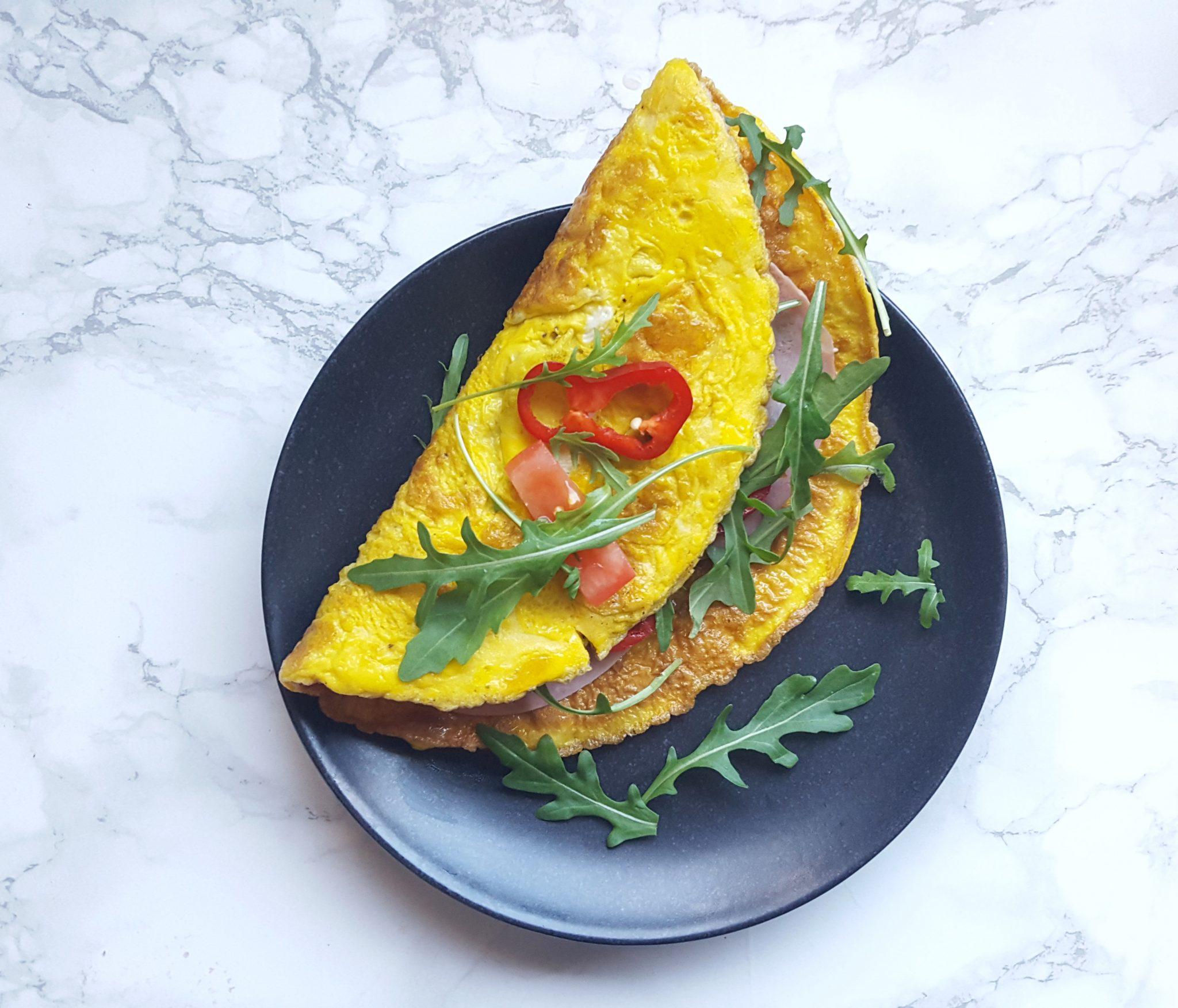 Recept: Gevulde omeletwraps voor Linda.lijnt