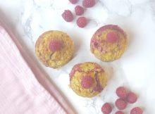 muffins met frambozen