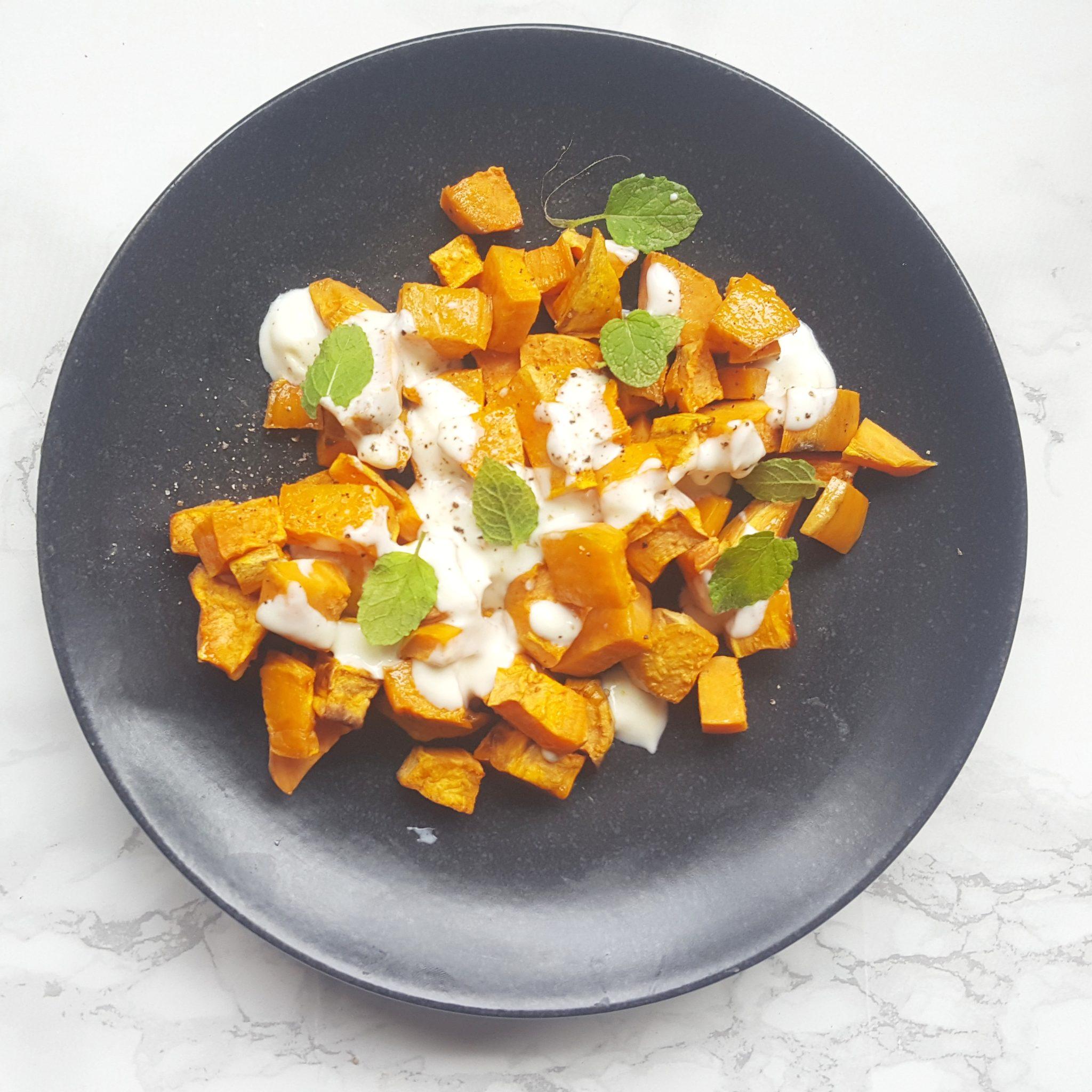 Recept: zoete aardappel salade
