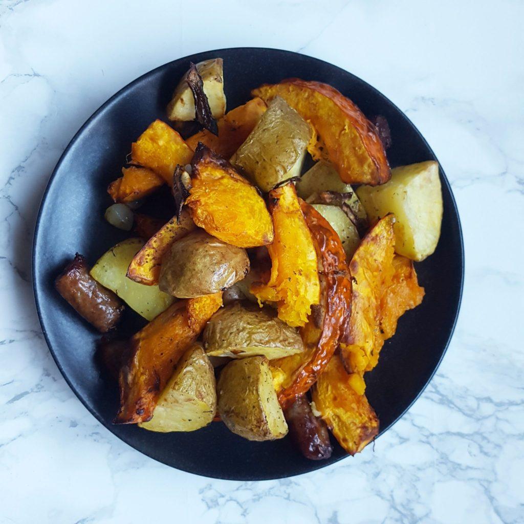 pompoen aardappel schotel