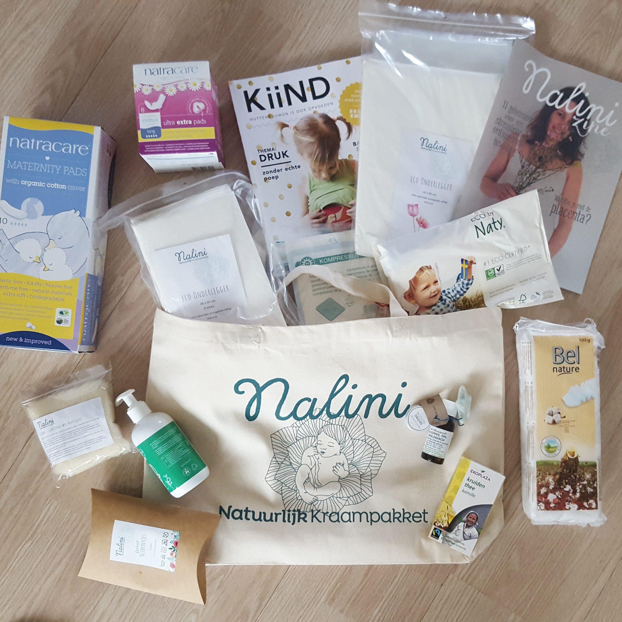 Mommy Monday: zwangerschapsupdate & het natuurlijk kraampakket van Nalini