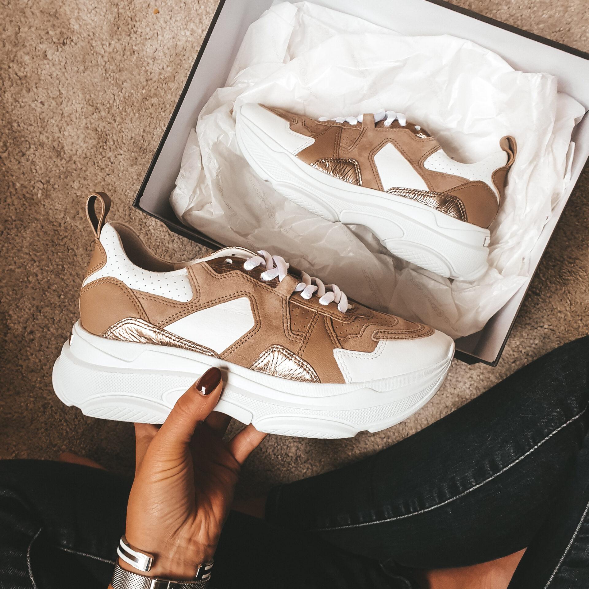 Nieuwe sneakers!